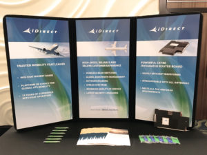 iDirect at Global Connected Aircraft 2017