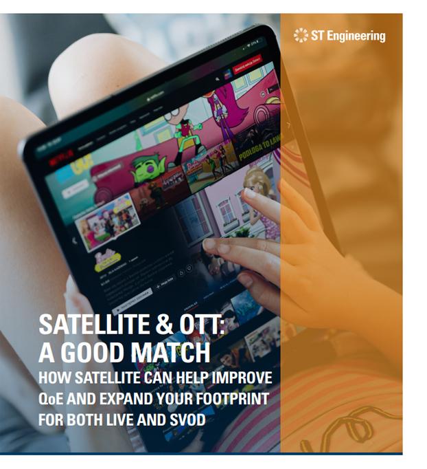 Whitepaper Satellite & OTT: A Good Match